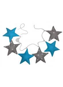 Girlanda 6-elementowa gwiazdki