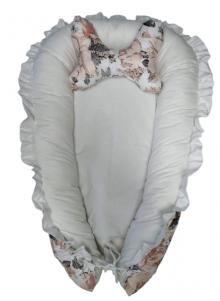Kokon niemowlęcy z falbanką